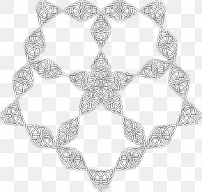 Line - Textile White Symmetry Pattern PNG