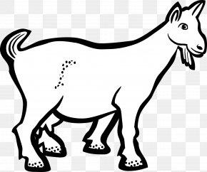 Goat - Clip Art Goat Vector Graphics Openclipart PNG