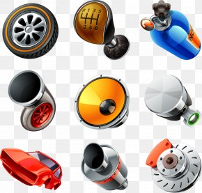 Vector Car Parts - Car Icon PNG
