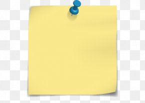 Post-it Note - Post-it Note Paper Drawing Pin Clip Art PNG