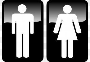 Unisex Restroom Cliparts - Bathroom Public Toilet Male Clip Art PNG