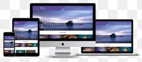Plum Creative - Responsive Web Design Computer Monitors E-commerce Digital Marketing Page Layout PNG