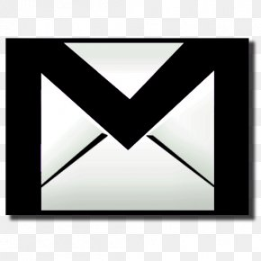 Black Gmail Icon - Inbox By Gmail Google Account Google Sync Google Contacts PNG