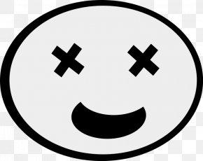 Mustache Outline - Cartoon Face Humour Clip Art PNG