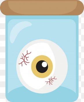 The Eyeball In A Glass Jar - Eye Glass Clip Art PNG