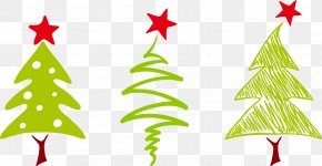 Christmas Tree - Christmas Element Euclidean Vector Gift PNG