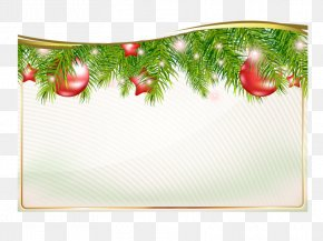 Christmas Menu - Paper New Year Sticker Clip Art PNG