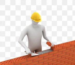 Walls Built With Hollow Bricks - Stock Photography 3D Computer Graphics Royalty-free Illustration PNG