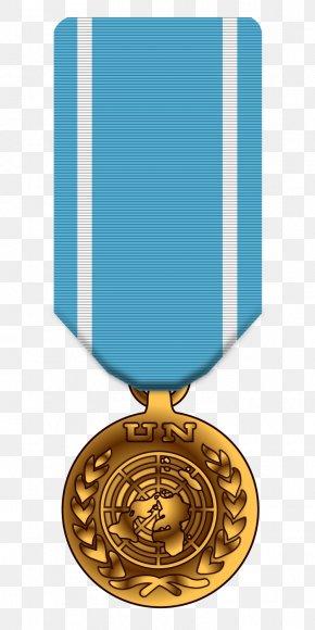 Medal - United States Navy National Defense Service Medal United Nations Medal PNG
