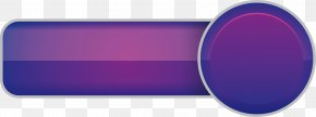 Purple Participation Button - Brand Rectangle Font PNG
