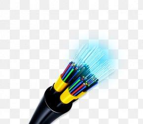 Fast Ethernet - Optical Fiber Cable Optics Fiber-optic Communication PNG