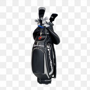 Black Business Backpack Golf - Golf Club Putter Skirt Golf Equipment PNG