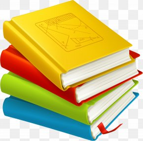 Creative Lectures - School Textbook Clip Art PNG
