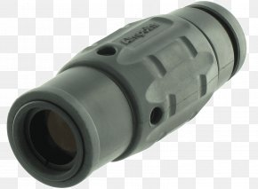 Weapon - Aimpoint AB M4 Carbine Red Dot Sight Aimpoint 3X Magnifier With Twist Mount PNG