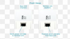 Power Over Ethernet - Wireless Access Points Power Over Ethernet Injector D-Link PNG