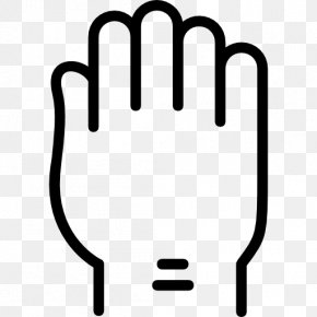 Hand - Finger Gesture Communication Raised Fist PNG