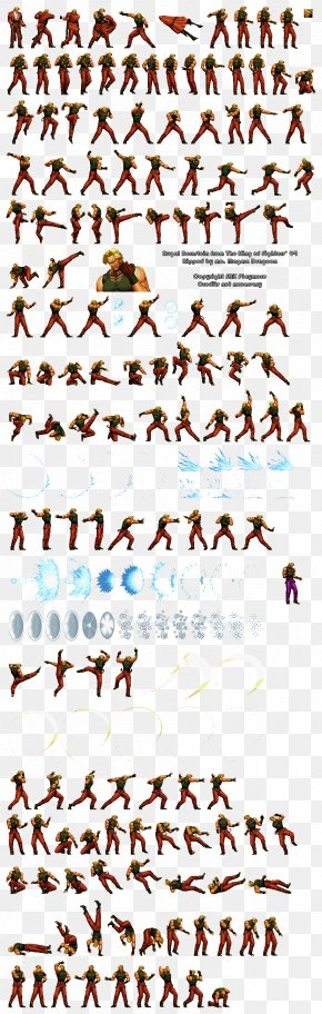 Sprite - The King Of Fighters XIII PlayStation 2 Sprite Video Game PNG