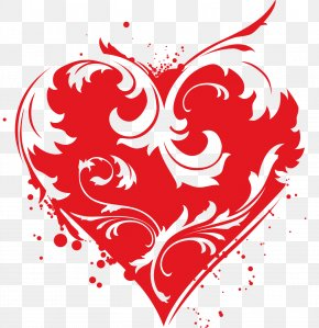 Red Love - Heart Euclidean Vector Clip Art PNG