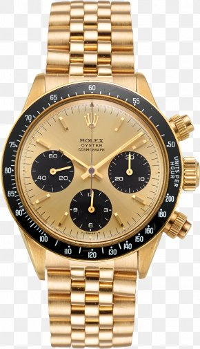 Rolex Daytona - Rolex Daytona Rolex Datejust Gold Watch PNG