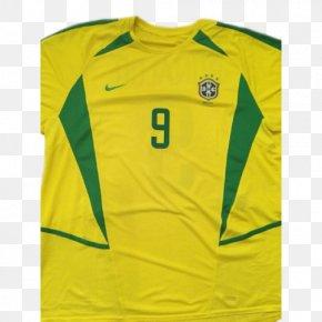Brazil Team - T-shirt Brazil National Football Team 2002 FIFA World Cup Jersey PNG