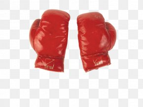 Boxing - Boxing Glove Personal Protective Equipment Red PNG