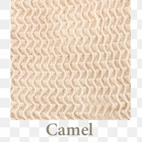 Camel - Camel Wool Afghan Material Beige PNG