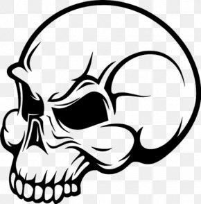 Skull - Drawing Human Skull Symbolism Flame Clip Art PNG