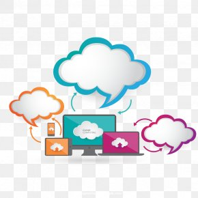 Vector Cloud Information - Cloud Computing Cloud Storage Download Computer File PNG