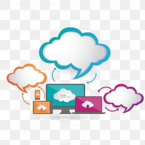 Vector Cloud Information - Cloud Computing Cloud Storage Download Computer File PNG