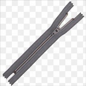 Zipper - Metal Zipper YKK Brass PNG