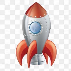 Cartoon Rocket - Flight Rocket Outer Space Clip Art PNG