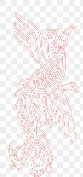 Red Phoenix - Visual Arts Drawing Costume Design The Arts Illustration PNG