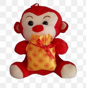 Little Monkey Toys - Monkey Toy Mascot PNG