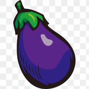 Hand Painted,Stick Figure,Fruits And Vegetables,vegetables,Fruits And Vegetables,Cartoon - Eggplant Clip Art PNG