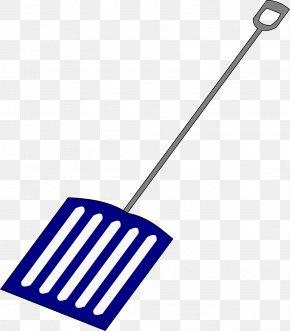 Yellow Shovel - Snow Shovel Clip Art PNG