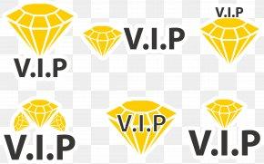 Vector VIP Logo Design - Logo Icon PNG