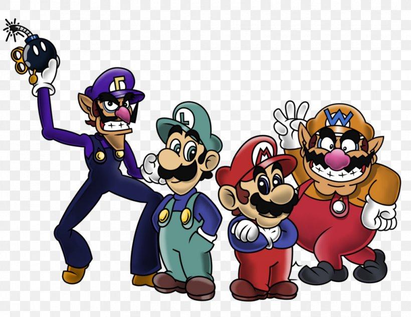 Super Mario Bros Mario Wario Luigi Png 1018x785px