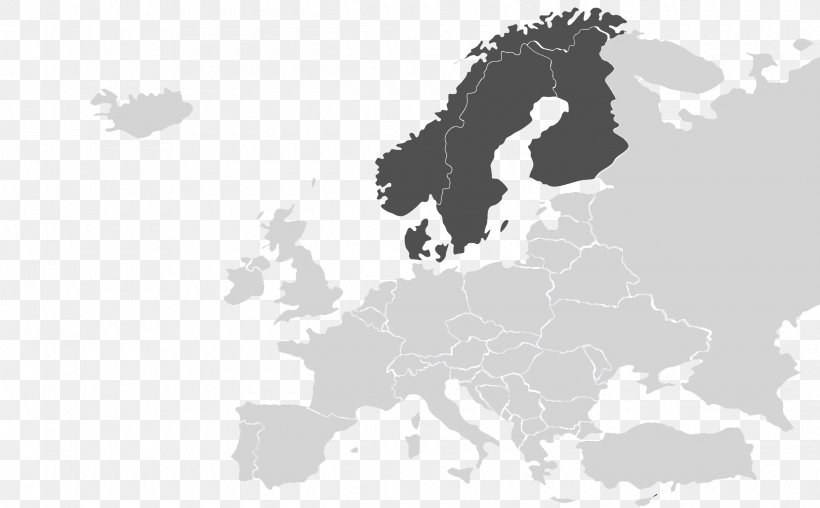 World Map Union Between Sweden And Norway, PNG, 2440x1513px ...