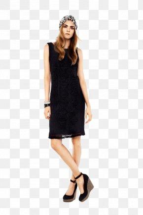 Cara Delevingne - Wrap Dress Fashion Sweater Neckline PNG