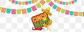 Mexican Fiesta Background - Clip Art Cinco De Mayo Graphics Openclipart Party PNG