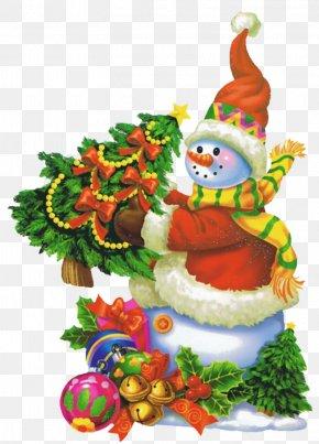 Christmas Tree - Christmas Ornament Christmas Tree Snowman Gift PNG