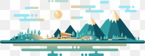Cartoon Night Flat Island - Deniz Temiz Dernegi Turmepa PNG