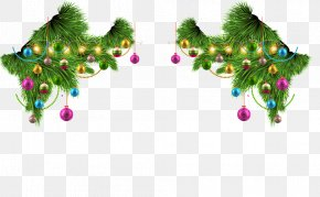 Christmas Decoration Material - Christmas Tree Pre-lit Tree Christmas Decoration PNG