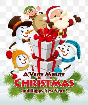 Christmas Theme Vector - Santa Claus's Reindeer Christmas Santa Claus's Reindeer Illustration PNG