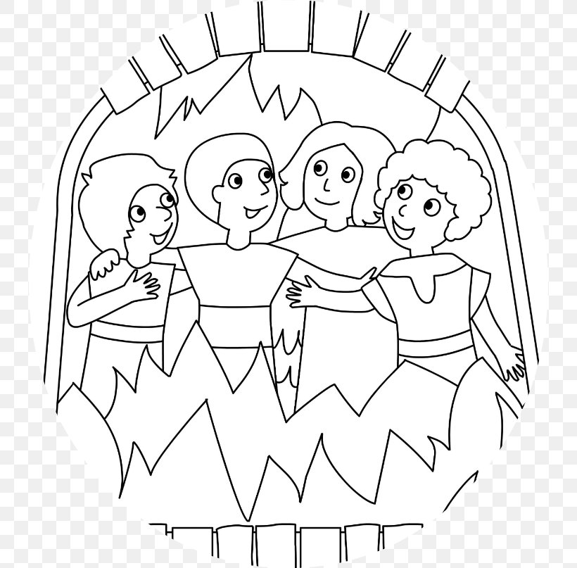 Bible Key Point Coloring Page | Shadrach, Meshach and Abednego ... | 807x820