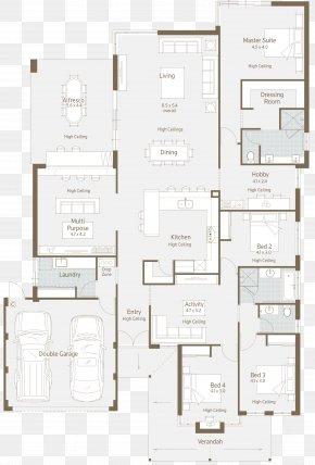 House - House Plan Floor Plan PNG