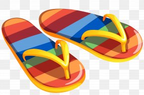 Vacation Background Cliparts - Flip-flops Clip Art PNG