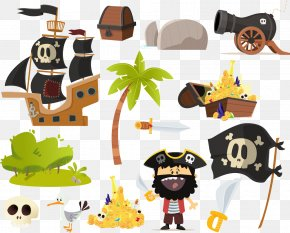 Pirate Collection Element - Piracy Illustration PNG