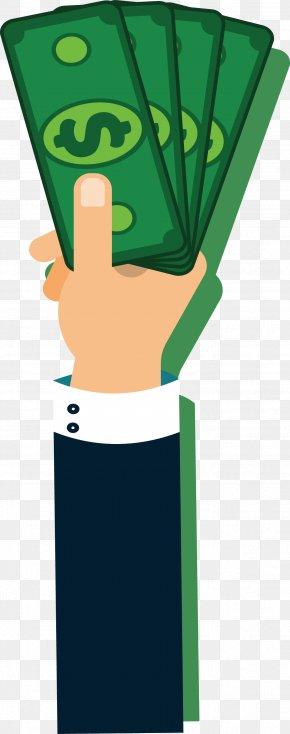 Hand Bill - Cash Money Banknote PNG