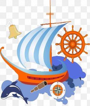 Set Sail - Watercraft Sail Boat PNG